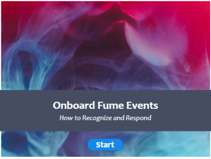 Onboard Fume Events - How to Recognize and Respond
